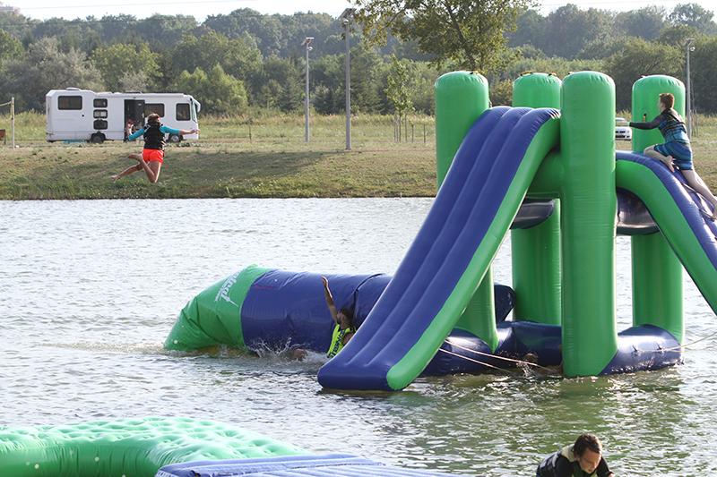 Blob Jump - Central Wakeboard Park